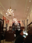 Интерьер Cafe Mozart