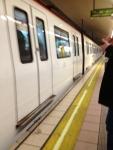 Поезд в метро (Барселона)