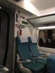 Внутри поезда Euromed Барселона-Валенсия (Renfe)