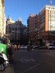 Центральная улица Colon в Валенсии
