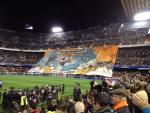 Баннер на Mestalla Stadium