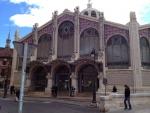Здание рынка Mercat в Валенсии