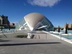 Кинотеатр Imax и планетарий в Городе искусства и наук в Валенсии