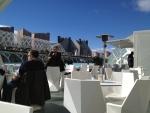 Кафе в Городе искусства и наук в Валенсии
