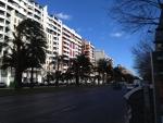 Улица недалеко от центра Валенсии - все те же аккуратные жилые дома!