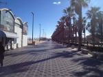 Променад на городском пляже Валенсии