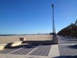 Пляж в Валенсии