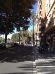 Еще одна уютная улочка недалеко от центра Валенсии
