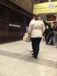 Перрон в метро (Валенсия)