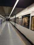 Поезд в метро (Валенсия)
