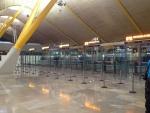 Паспортный контроль в аэропорте Барахас (Мадрид)
