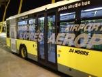 Автобус-экспресс из аэропорта Барахас в центр Мадрида