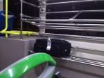 Места для чемоданов в автобусе-экспрессе из аэропорта Барахас