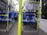 Внутри автобуса-экспресса из аэропорта Барахас