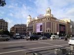 Улица Gran Via в Мадриде