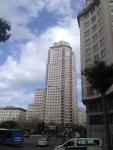 Небоскреб на улице Gran Via в Мадриде