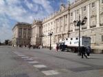 Королевский дворец в Мадриде (его боковая часть)