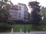 Здания в Мадриде с видом на Королевский дворец :)