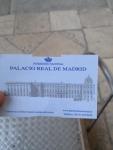 Билет в Королевский дворец в Мадриде