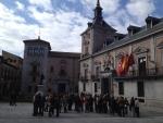 Какая-то демонстрация в Мадриде =)