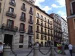 Здания в центре Мадрида. Симпатично :)