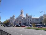 Площадь Cibeles в Мадриде