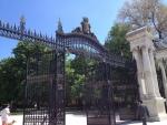Вход в парк Ретиро в Мадриде