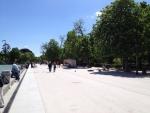 Набережная у пруда в парке Ретиро
