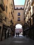 Улочка в центре Мадрида