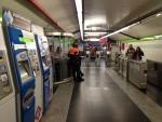 Вход на станции в мадридском метро