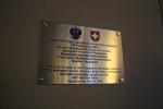 Отель 40-й Меридиан Арбат - табличка с информацией об обеде Медведева Д. А.