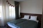 Отель 40-й Меридиан Арбат в Коломне - кровать на двоих, но на самом деле состоит из двух односпальных