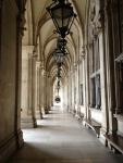 Проход у ратуши в Вене