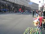 Крещатик в центре Киева