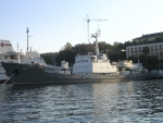 Корабль Лиман в Севастопольской бухте