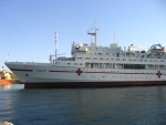 Корабль Енисей в Севастопольской бухте