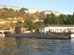 Подводная лодка в Севастопольской бухте