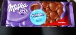 Внешний вид упаковки молочного пористого шоколада Milka Bubbles