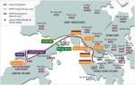 Аэропорт Гонконга Чхеклапкок - карта транспорта