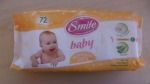 """Ультрамягкие влажные салфетки """"Smile baby"""" достаточно привлекательная упаковка"""
