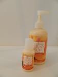 Ezflow Silky Soft hand & body lotion Peach Citrus - большая бутылочка и миниатюра