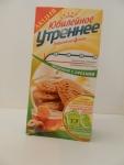 Печенье Юбилейное Утреннее медовое с орехами - упаковка спереди