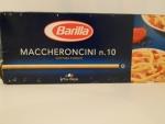 Barilla Maccheroncini n.10 - упаковка