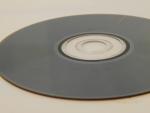 TDK DVD-RW 4.7Gb 4x - обратная сторона, немного поврежденная