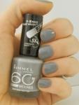 "Rimmel 60 Seconds 805 ""Grey Matter"" на ногтях"