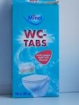Таблетки для унитаза WC-tabs Minel - коробка