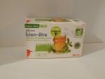 Зеленый чай Auchan  со вкусом вербены и мяты - коробка