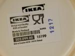 """Кружка с рисунком IKEA """"ОМБИТЛИГ"""" - этикетка"""