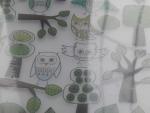 Тетрадь IKEA A4 - совы