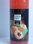 Гель-пиллинг для душа Aquafruit Абрикос- этикетка